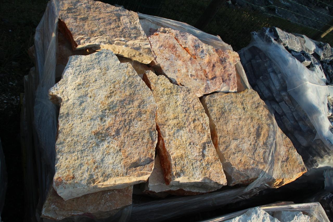 Zem enrico marmi prezzi sassi rivestimento muri super for Pietre bianche da giardino costo